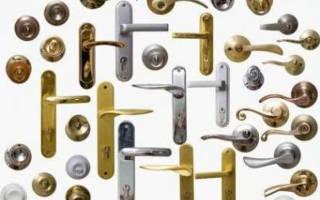 Как собрать дверную ручку межкомнатной двери?