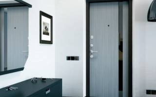 Чем обшить проем входной двери?