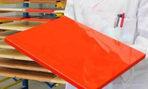 Как покрасить пленочный фасад кухни?