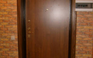 Как самостоятельно сделать откосы на входную дверь?