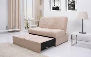 Как собрать выдвижной диван?