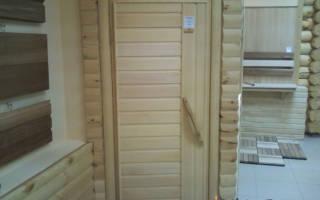 Как сделать банную дверь?