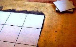 Как приклеить кафельную плитку на ДСП?