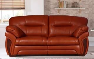 Как ухаживать за кожзаменителем дивана?