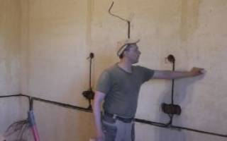 Как встроить розетку в мебель?