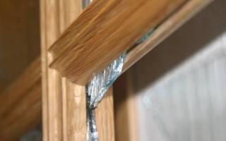 Как вынуть стекло из двери?