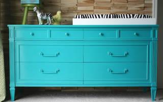 Можно ли покрасить ЛДСП мебель?