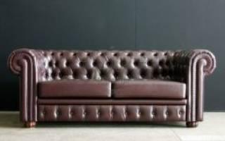 Как убрать царапины с кожаного дивана?