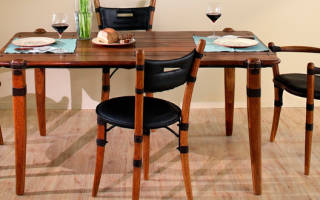 Как делают стулья из дерева?