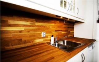 Как закрепить кухонный фартук из МДФ?