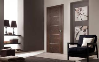 Что значит шпонированные межкомнатные двери?