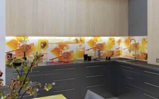 Установка МДФ панелей на стены кухни