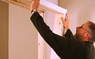 Как правильно собрать коробку для деревянной двери?